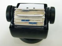 Picture of a card index symbolizing information